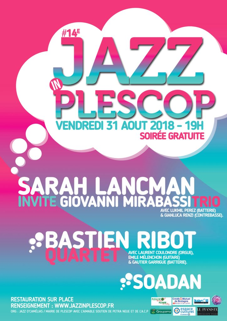 Affiche de l'édition 2018 de Jazz In Plescop