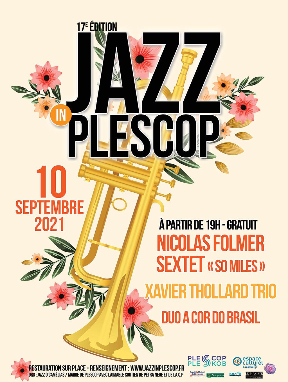 Affiche de l'édition 2021 de Jazz In Plescop